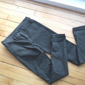 Maison Martin Margiela Green Skinny Jeans